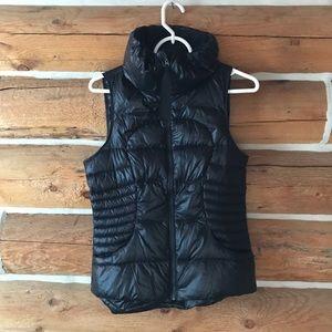 Lululemon fluffin awesome black puffer vest 6